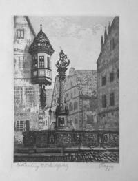 Фонтан в старом городе