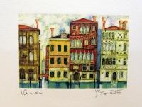 Дома на канале в венеции