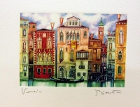 На канале в венеции