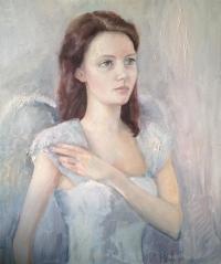 Портрет Руфины в костюме ангела