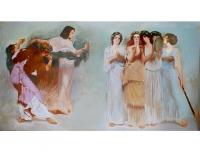 Фрагмент танцовщицы в древнем Риме