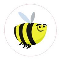 Веселая пчела