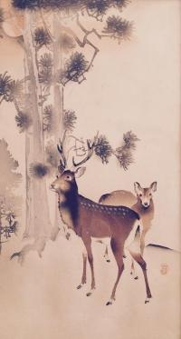 Молодые олени