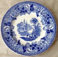 Настенная тарелка Рыбаки у Дворца