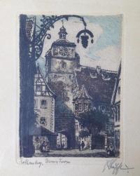 Старый город в Германии